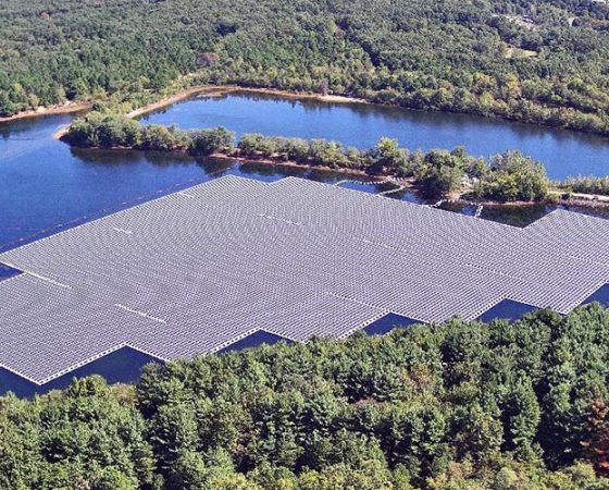 What's the Latest Wastewater Treatment Facility Solar Trend? Floatovoltaics