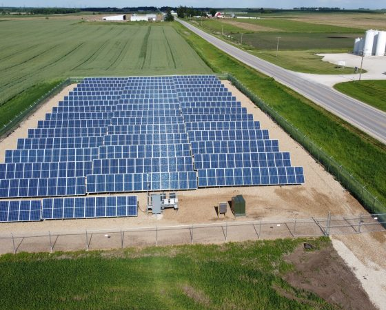 Spreading the Sunshine: Iowa's Franklin Rural Electric Cooperative Adds Three Solar Arrays